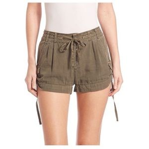 Free People Melvin soft roll shorts